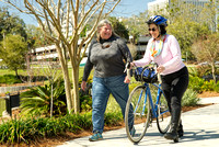 Older adults enjoy bicycling and walking as ways to stay active, mobile and safe in Florida